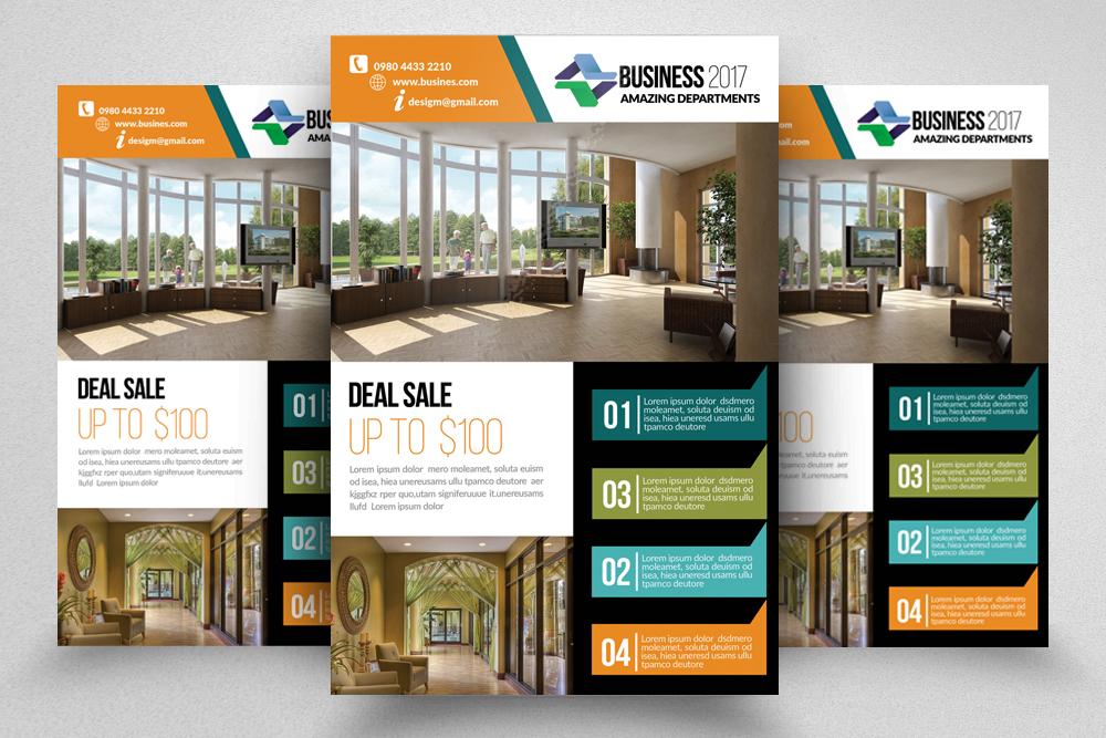 10 Business Flyer Bundle example image 2