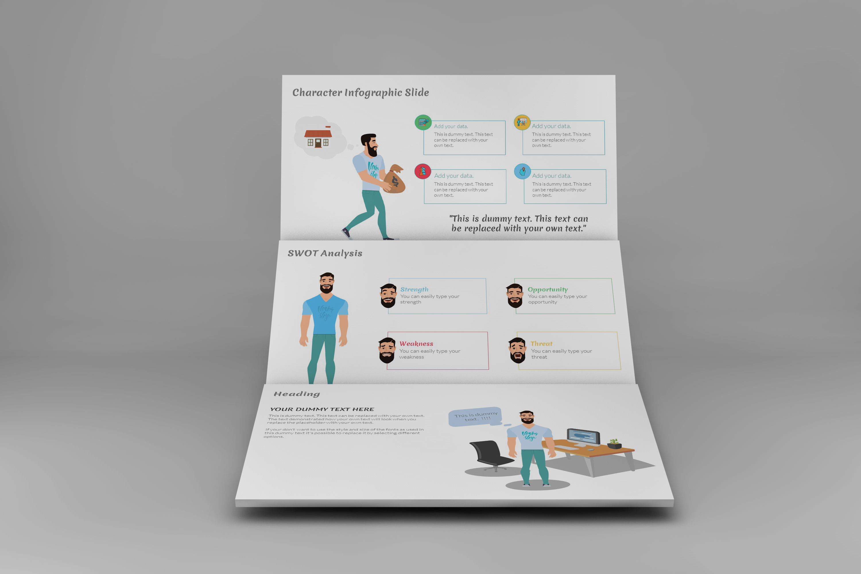 E-Trainer PowerPoint Template 1 example image 4