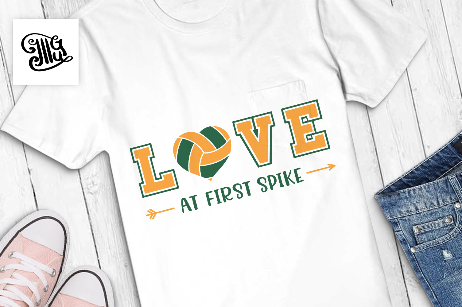 Volleyball svg bundle example image 16