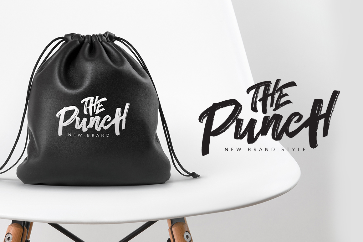 The Conquer Brush Typeface example image 2