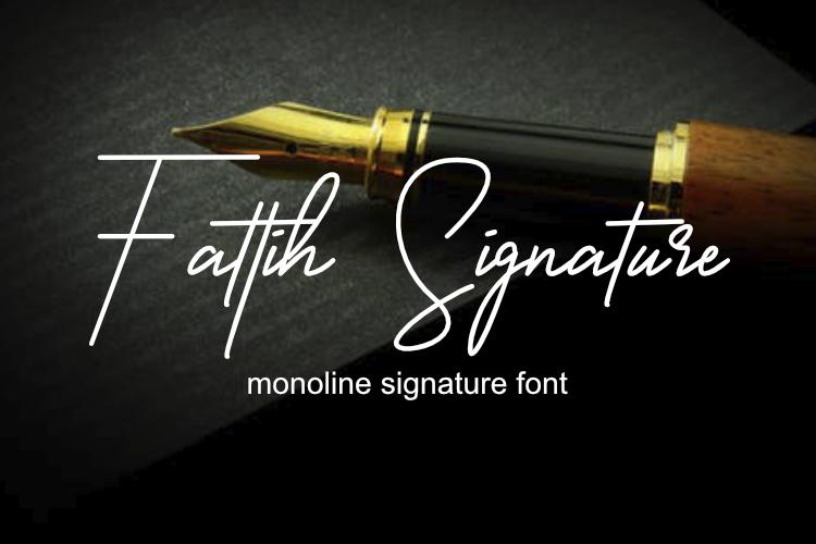 Fattih Signature example image 1