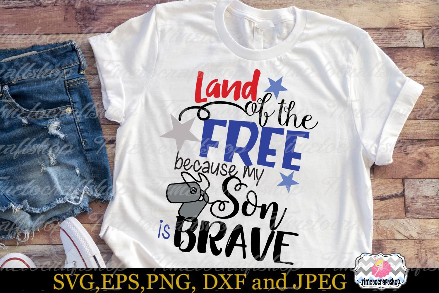 Land of the Free because My Son is Brave example image 2
