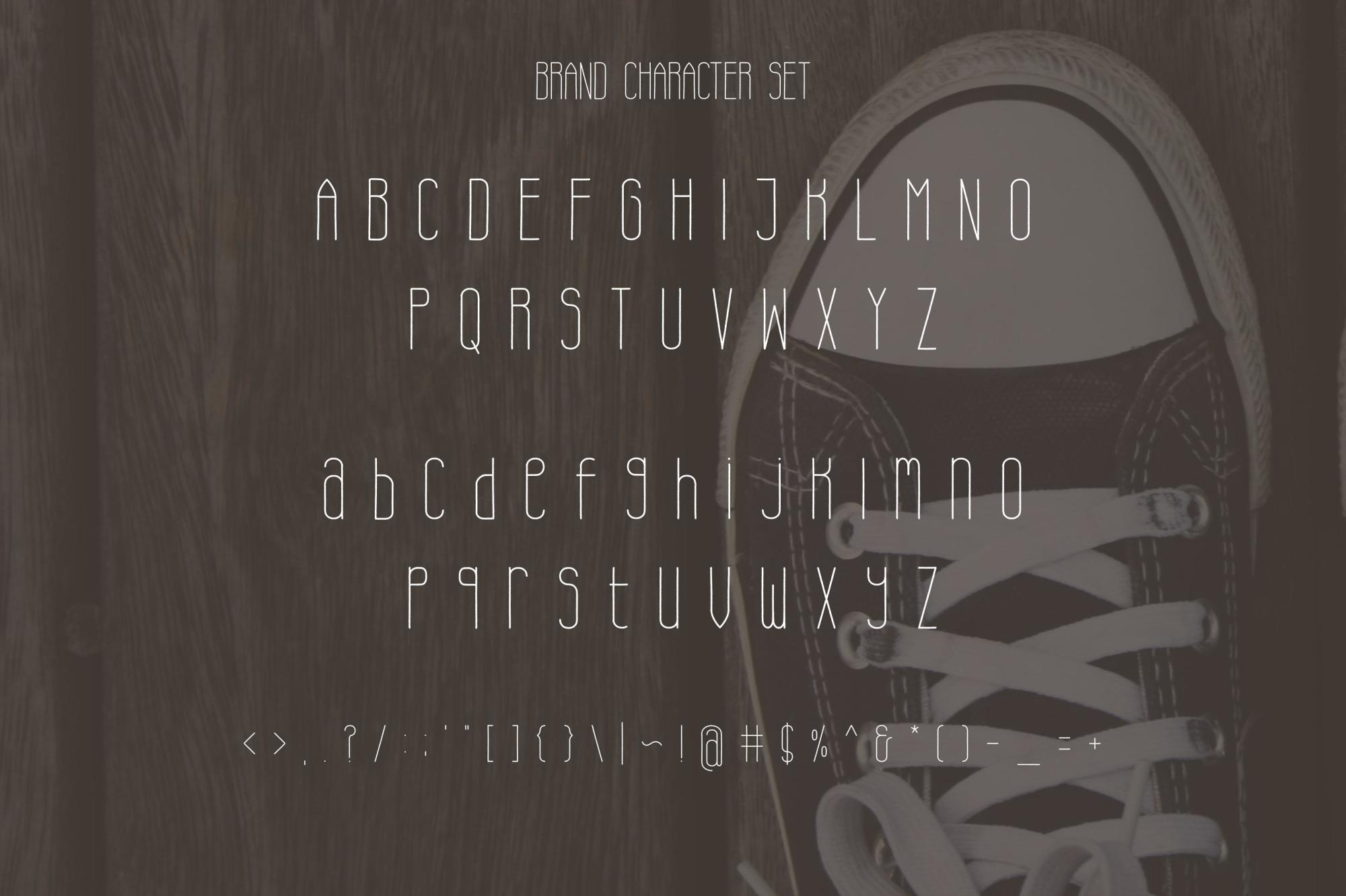 Brand Typeface Font example image 4