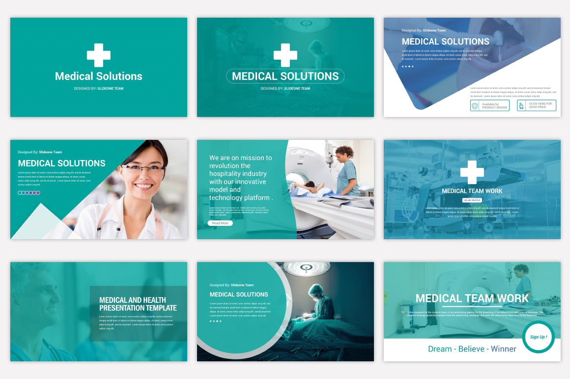Medical Keynote Template Solutions example image 5