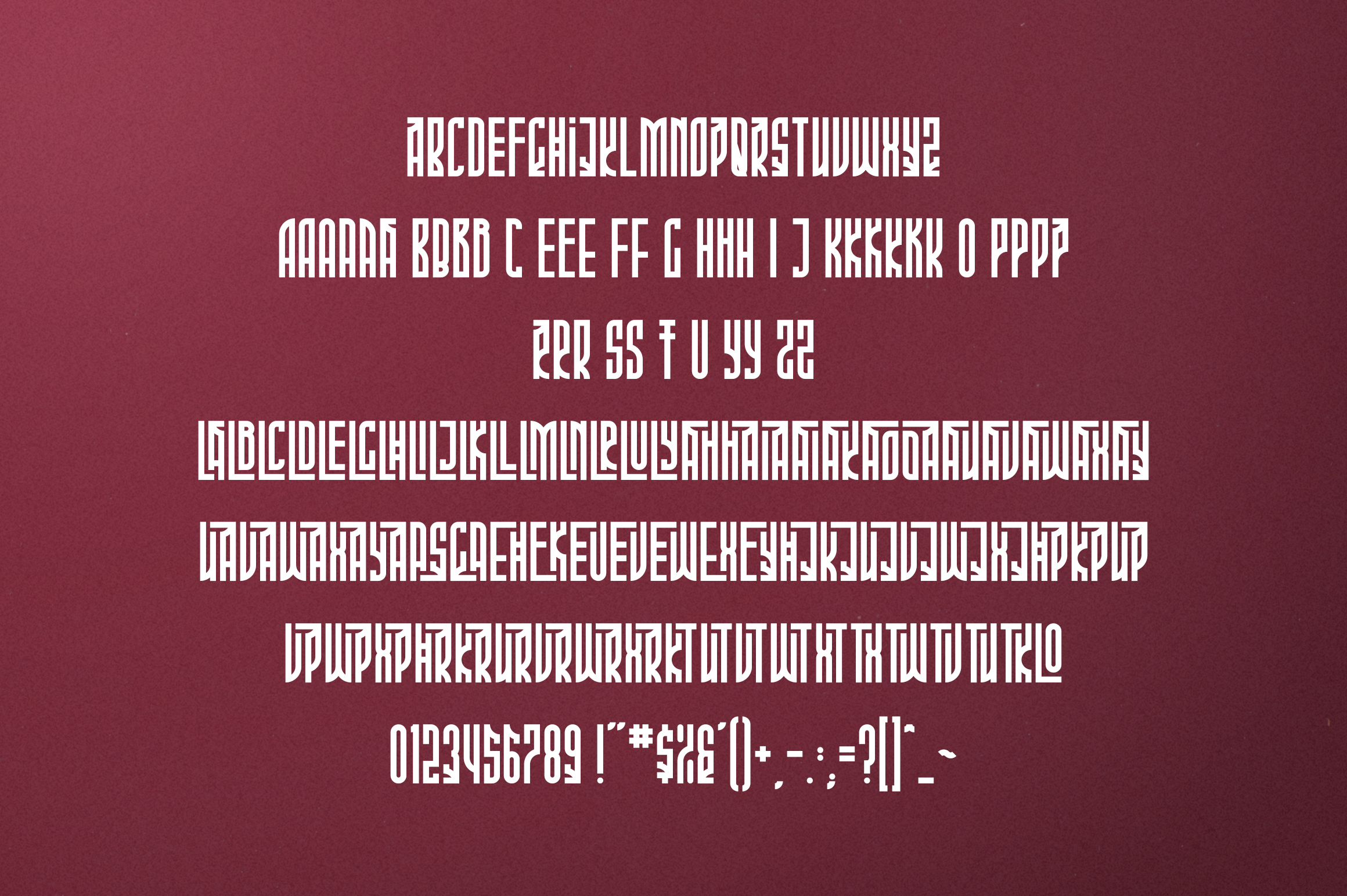 Phoeniks - Display font example image 7