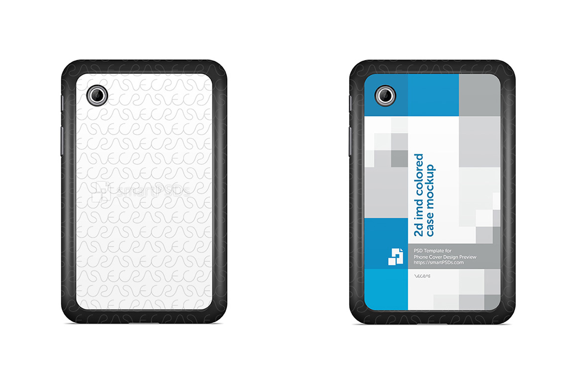 Samsung Galaxy Tab 2 P3110 2d IMD Tablet Case Design Mockup 2012 example image 1