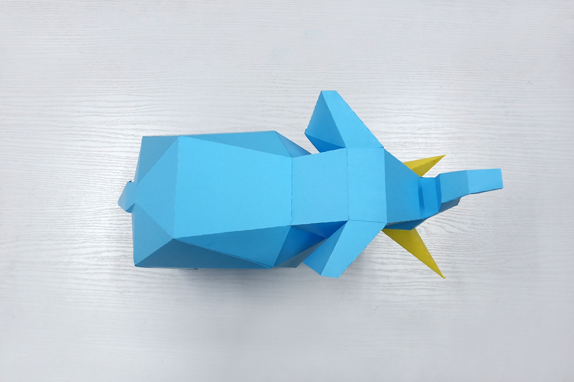 DIY Elephant Sculpture - 3d papercraft example image 5