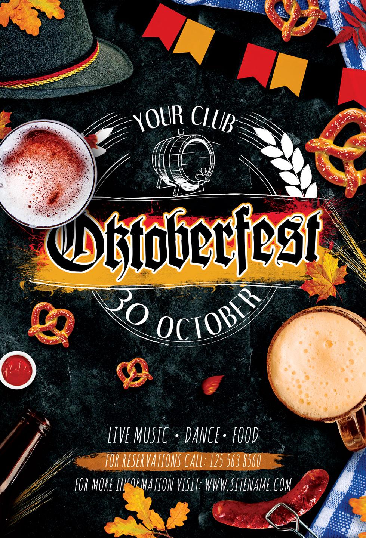 Oktoberfest Octoberfest Festival Flyer example image 4