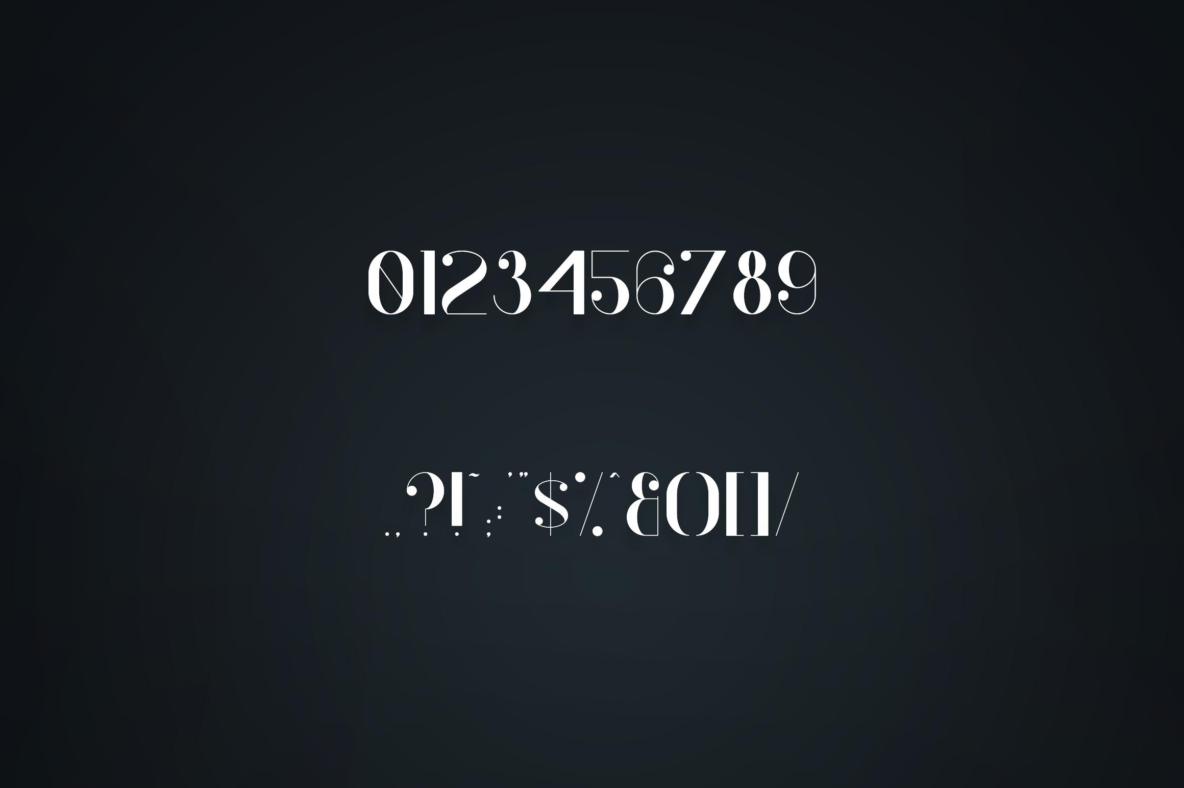Kocka Serif Font example image 6