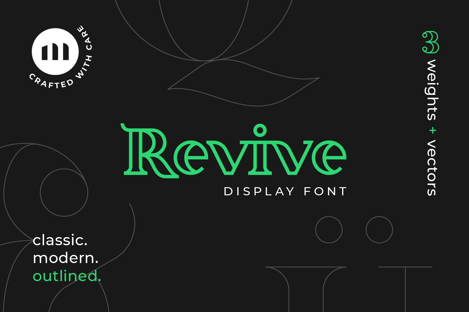 Revive Display Font example image 1