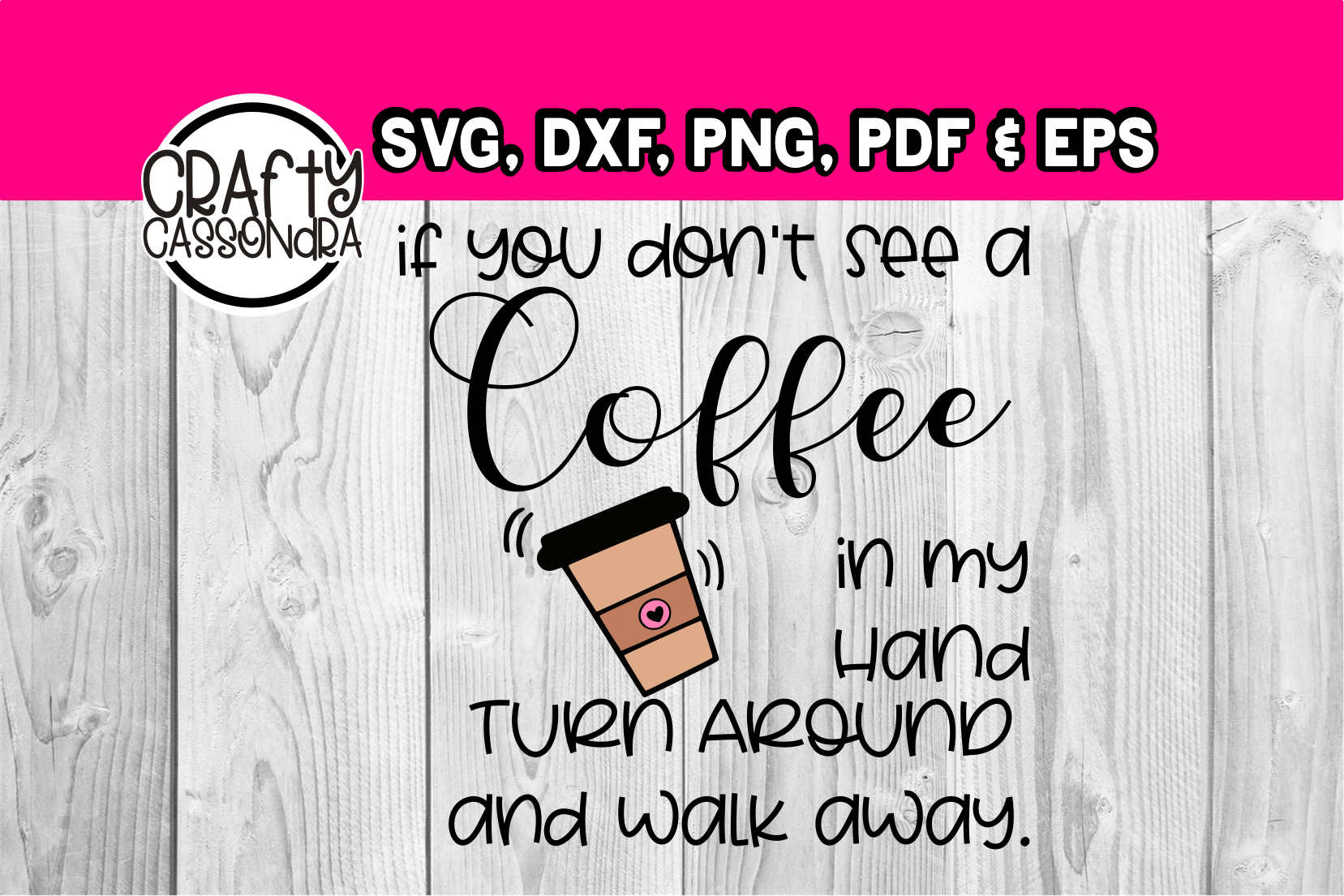 if you don't see a coffee in my hand example image 1