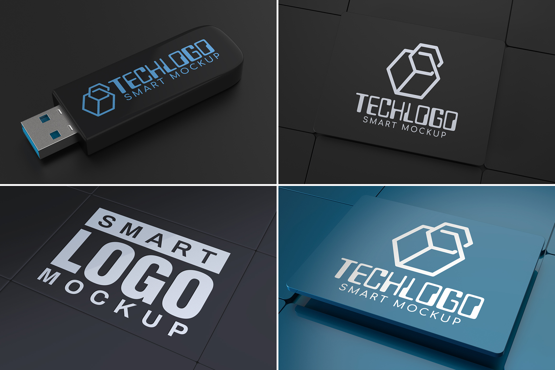 100 Logo Mockups Bundle Vol.3 example image 10