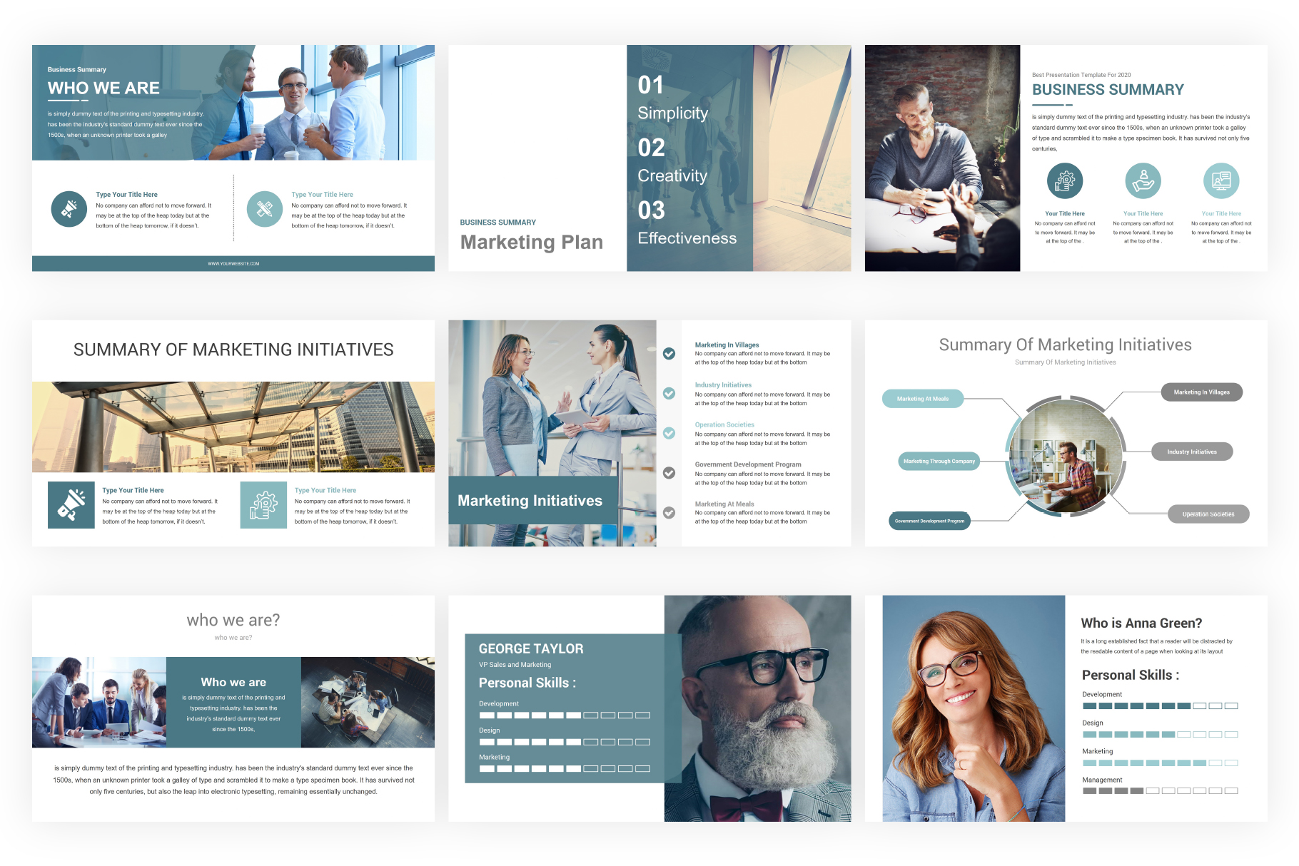 Marketing Plan PowerPoint Presentation Template example image 3