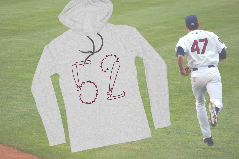 Baseball Monogram Font example image 7