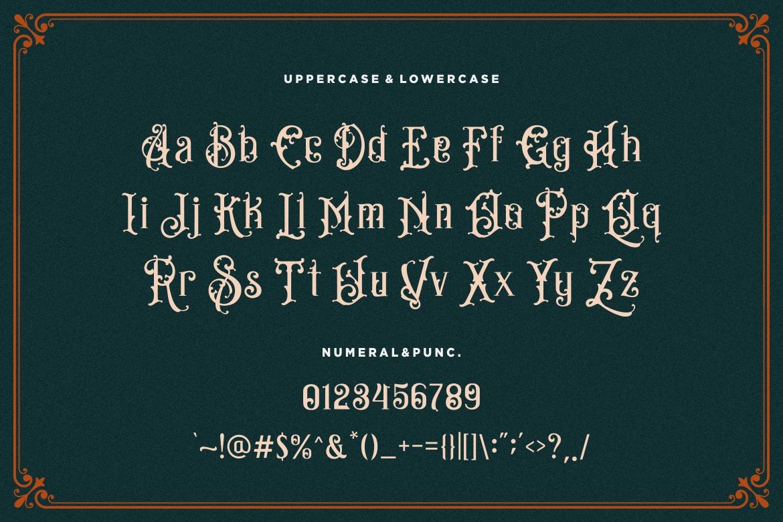 Bandits Vintage Font example image 8