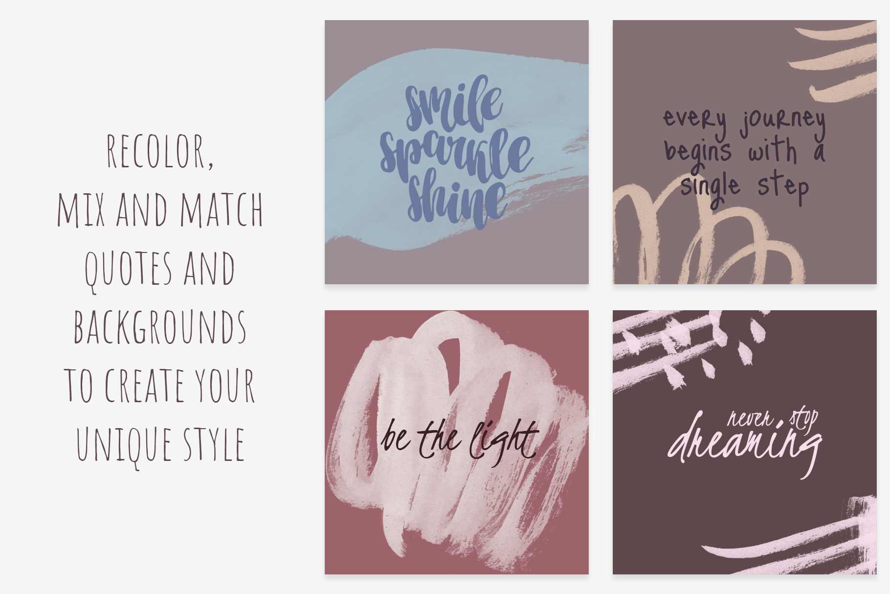 TURN YOUR MAGIC ON quotes bundle example image 2