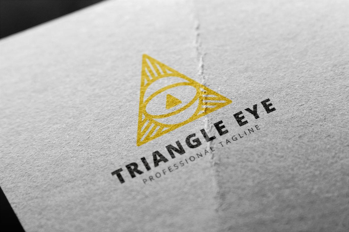 Triangle Eye Logo example image 3