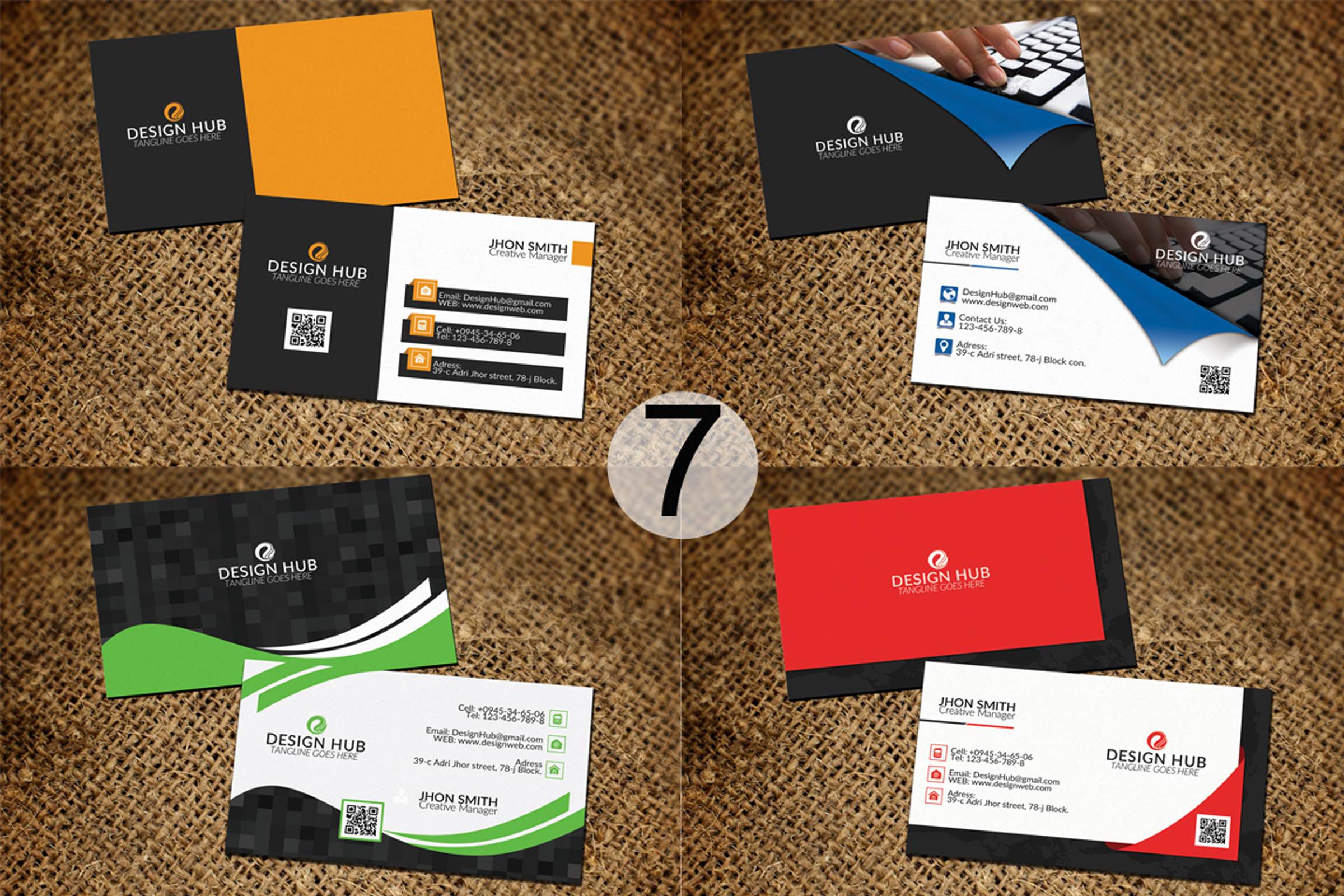 32 Business Cards Bundle Deal example image 8