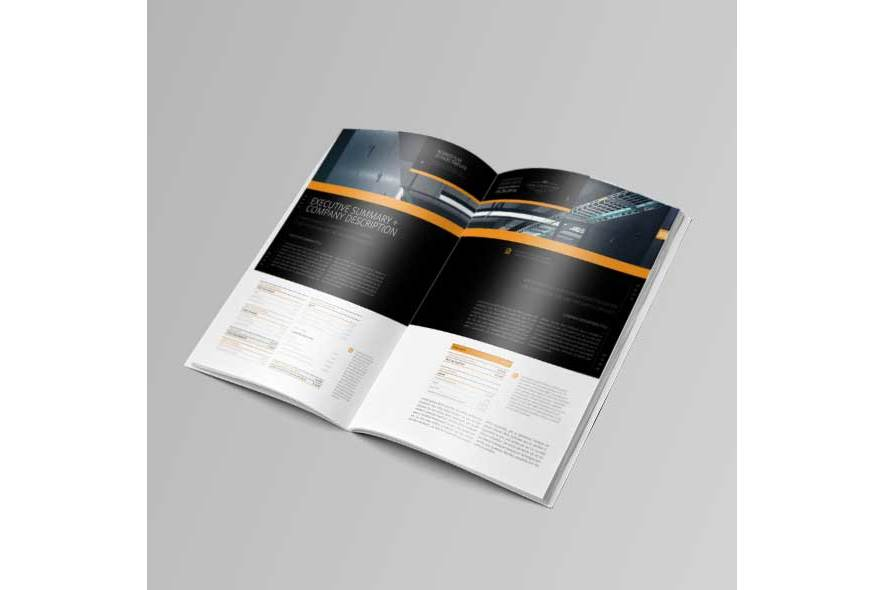 Business Plan Template 20P A4 example image 3