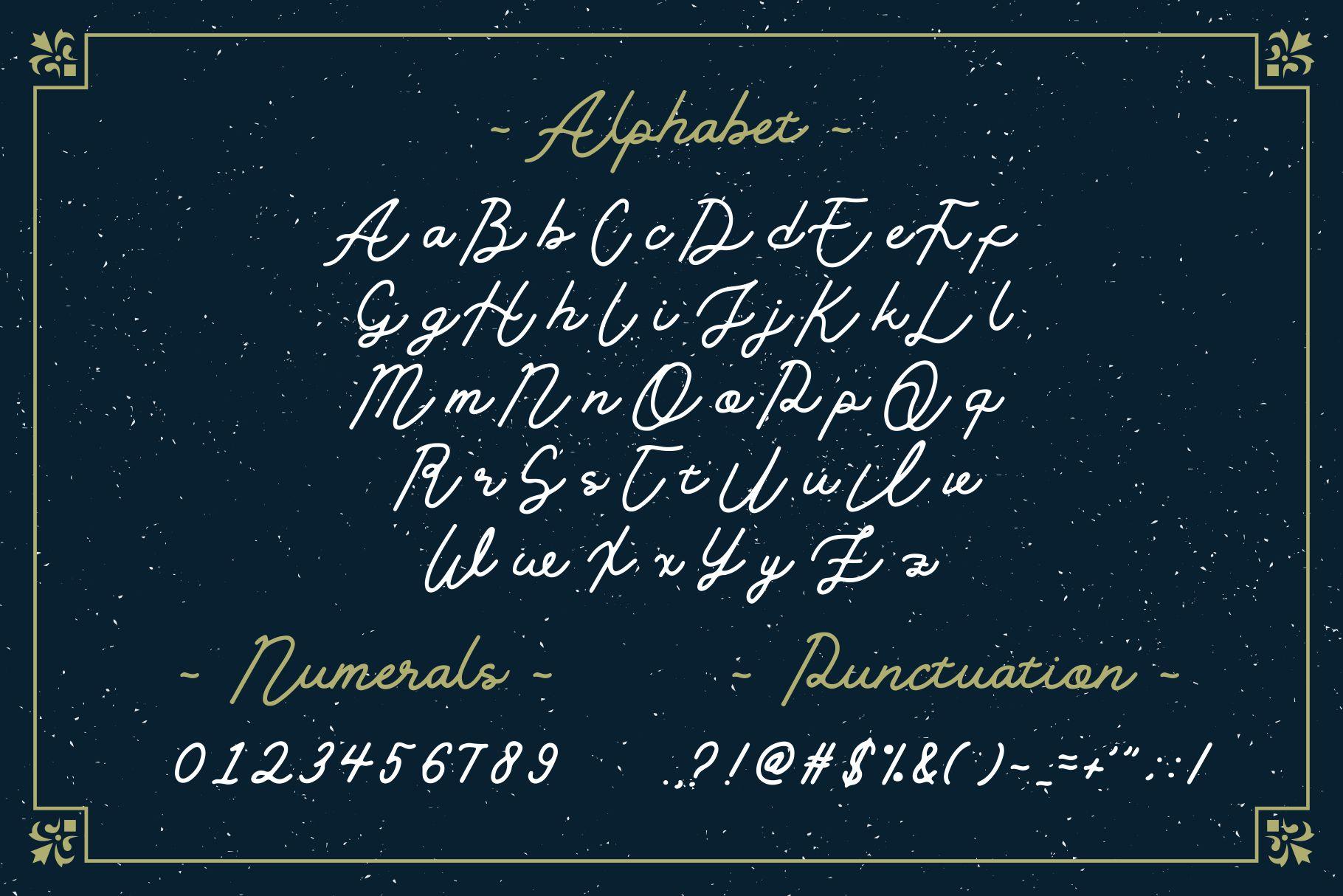 Golden Slayer - Monoline Typeface example image 2