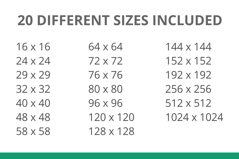 166 Interface Flat Icons example image 4