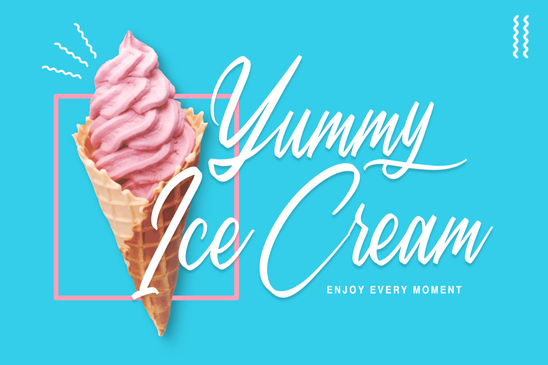 Sweet Morning - Script Font example image 2
