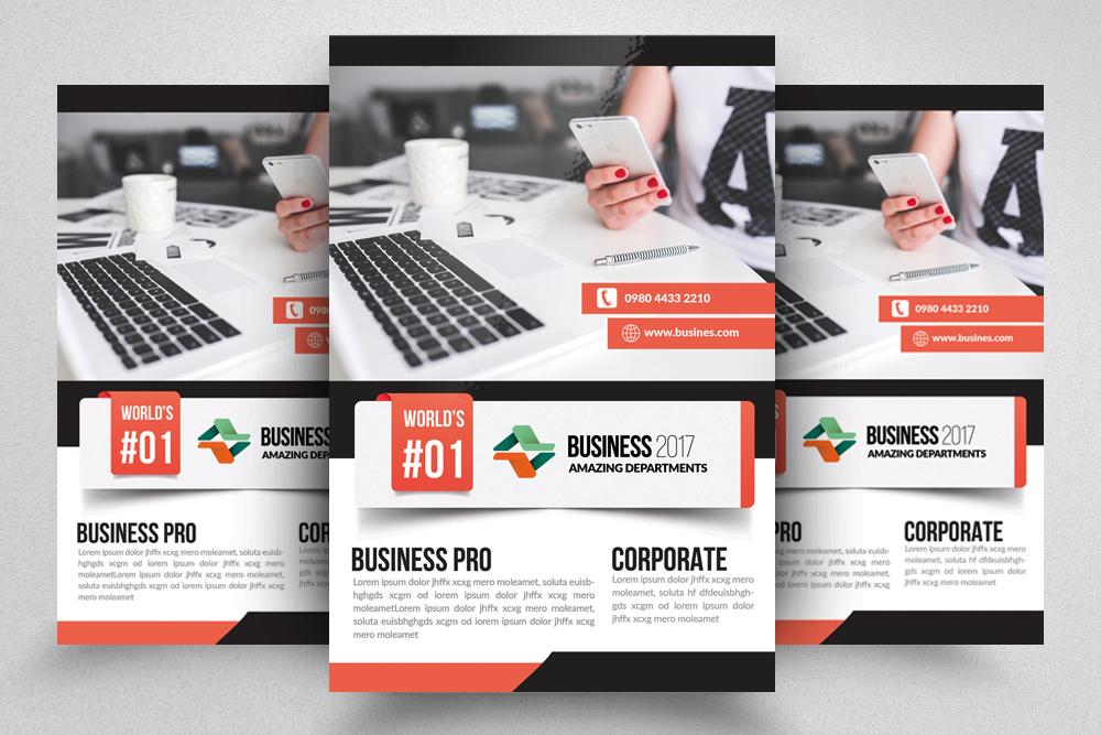 10 Business Flyer Bundle example image 6
