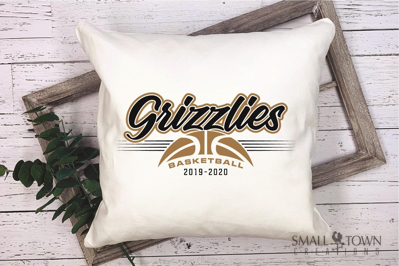 Grizzlies, Basketball, Sport, Team, Logo, PRINT, CUT, DESIGN example image 3