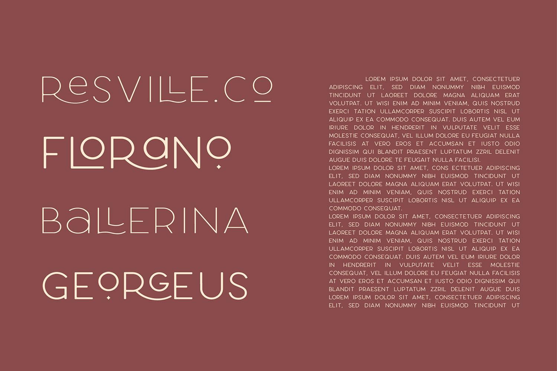 Larosa Sans- 7 Elegant Typeface example image 10