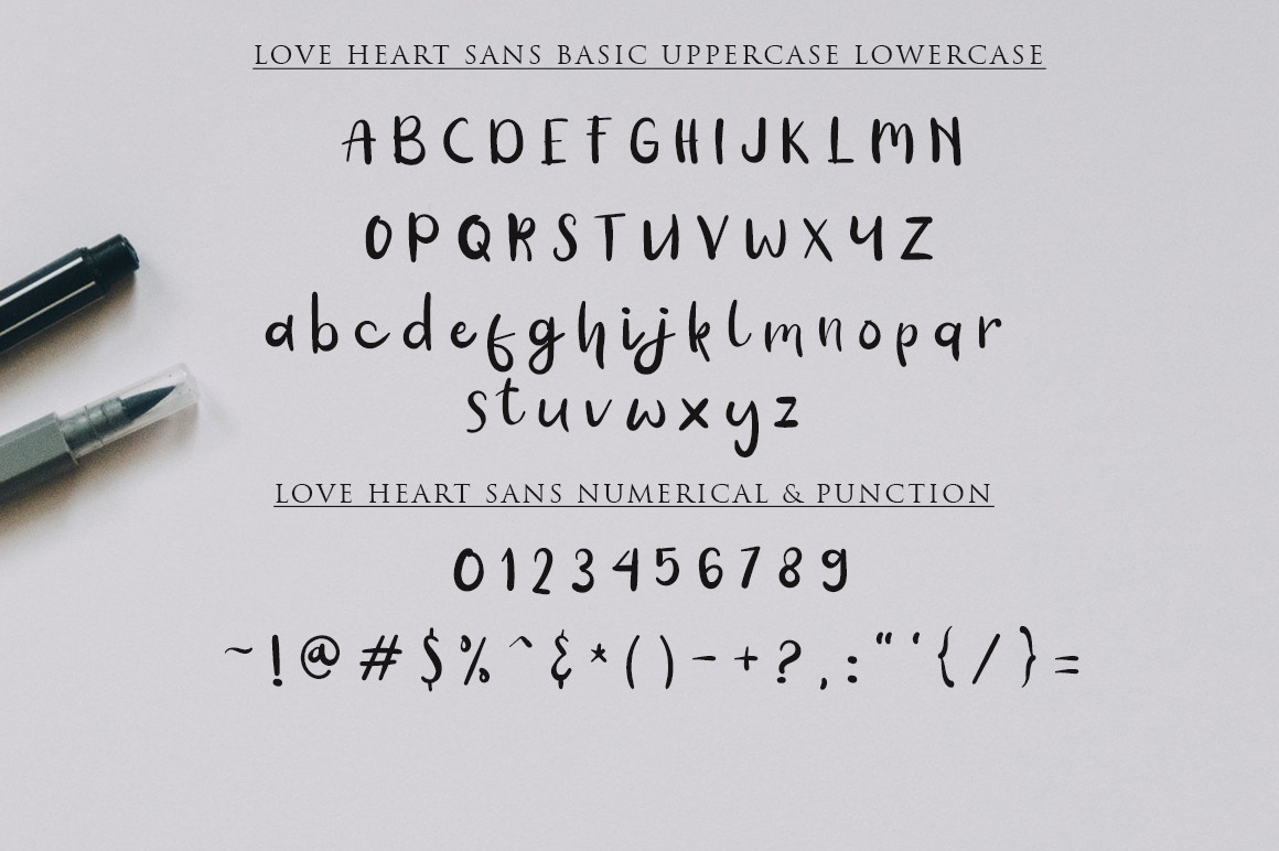 Love Heart / Beauty Combo example image 7