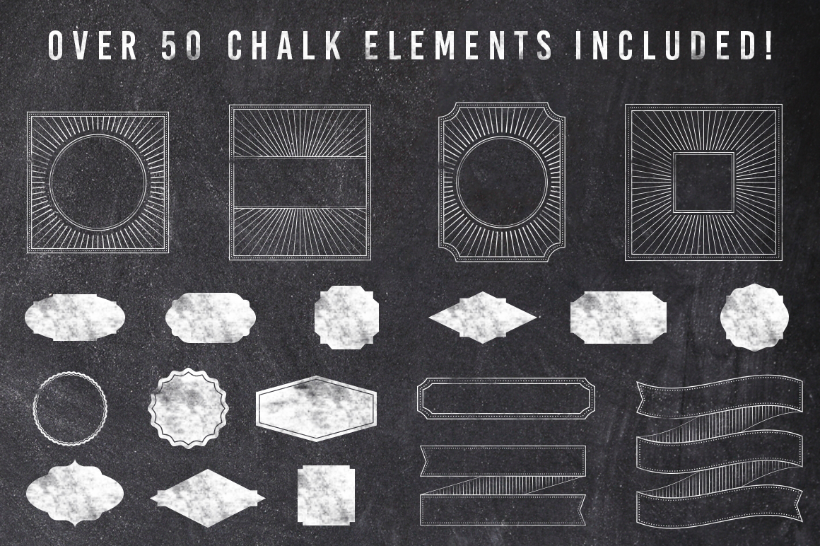 Chalk Business Card Creator example image 4