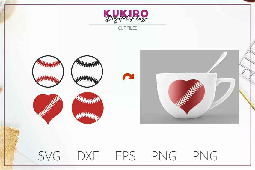 Baseball SVG BUNDLE Cut files SVG DXF EPS PNG Baseball Mom example image 14