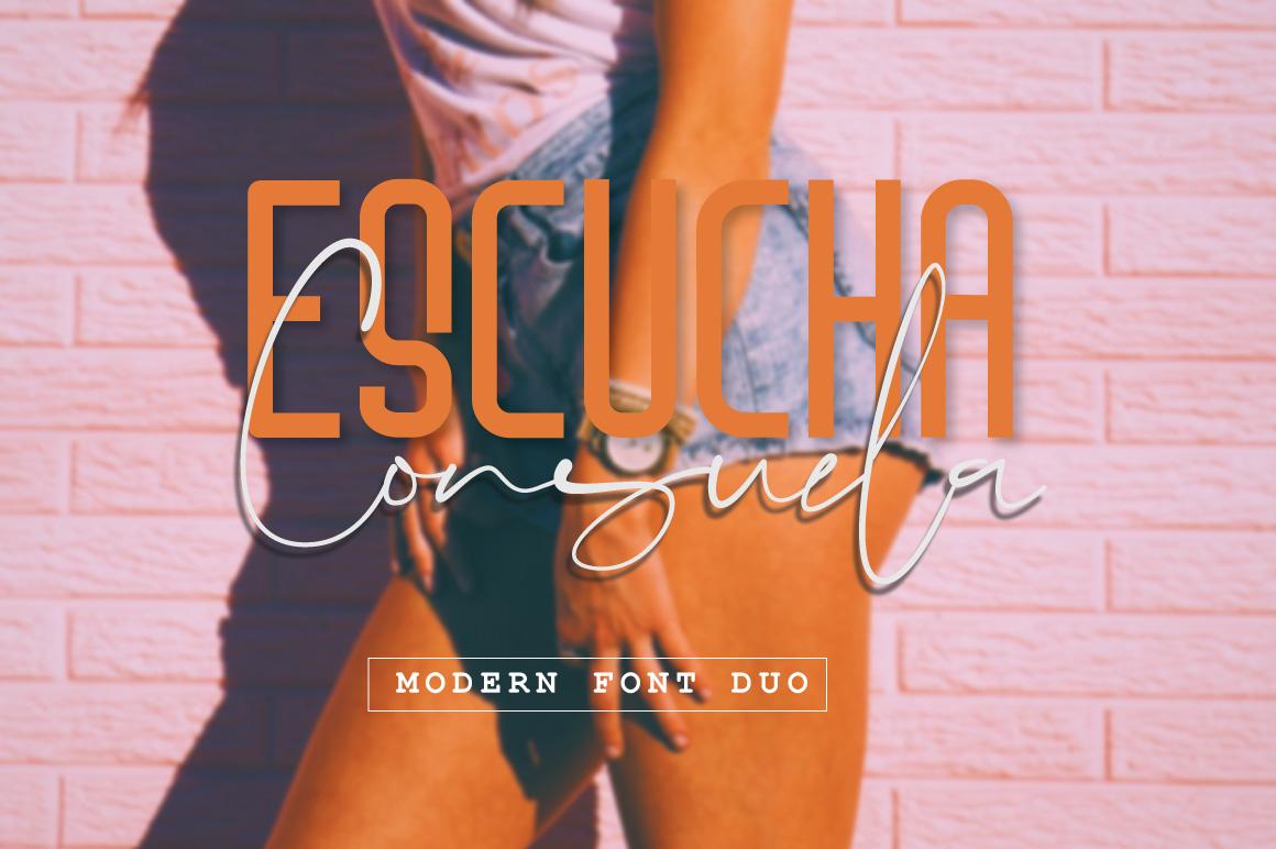 Escucha Consuela Font Duo example image 1