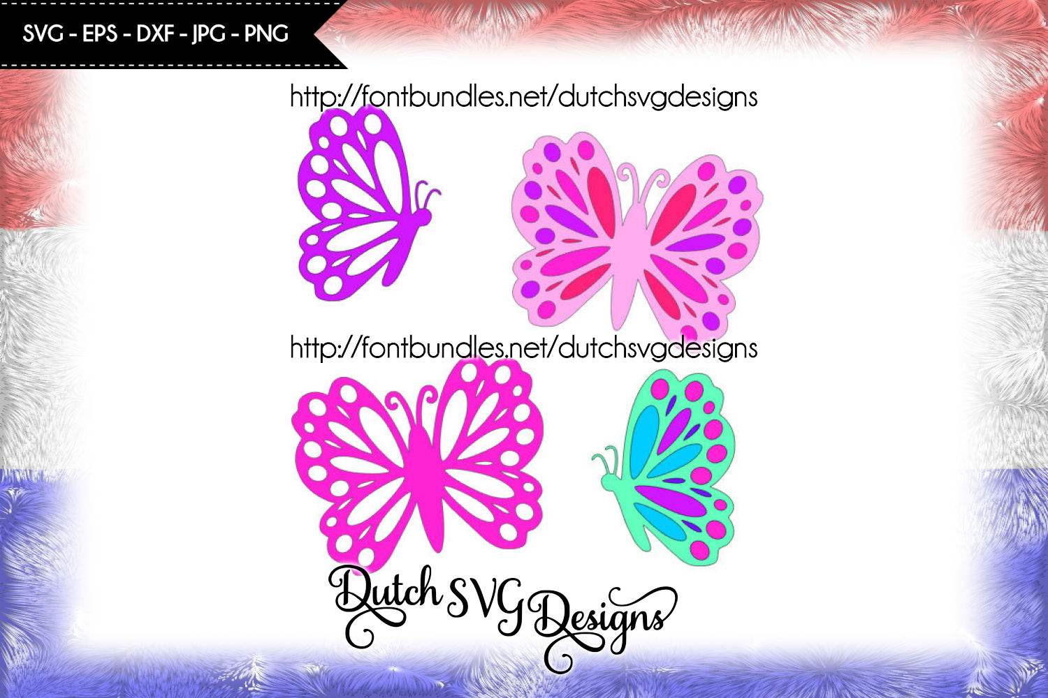 2 Butterfly cutting files / butterfly svg example image 1