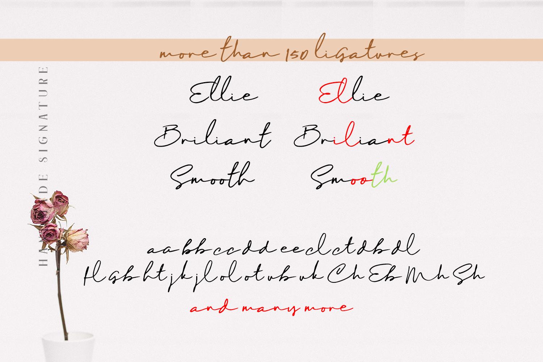 Maddison - Handmade Signature example image 3