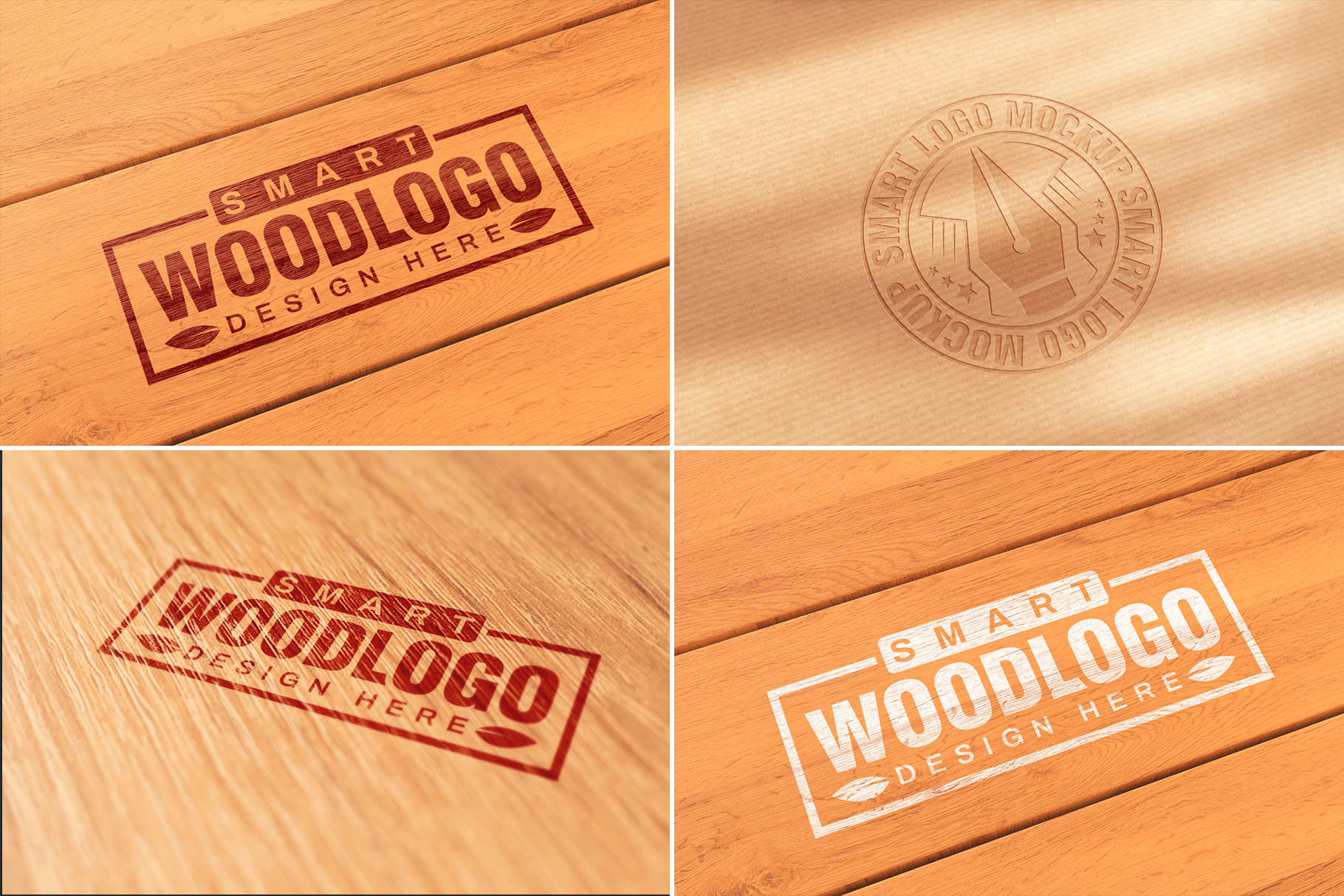 100 Logo Mockups Bundle Vol.3 example image 14