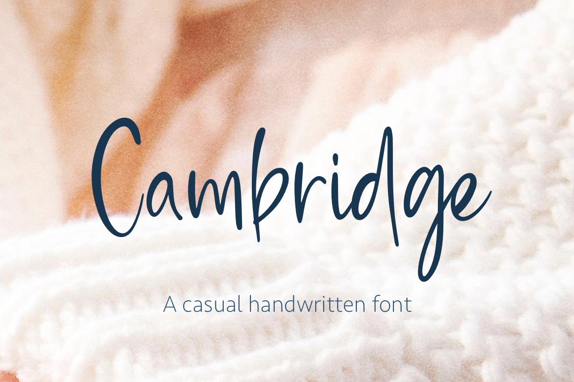 Cambridge example image 1