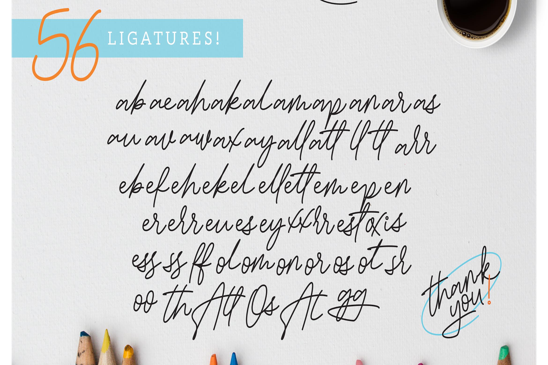 Bessita Handwriting - Script example image 12