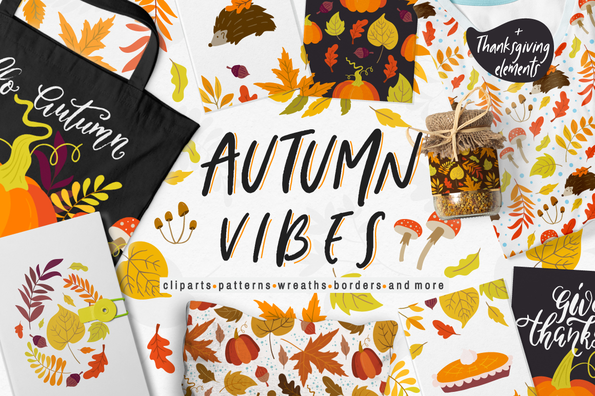 Autumn Vibes collection example image 1