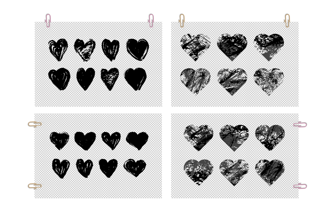 Collection Hearts example image 2
