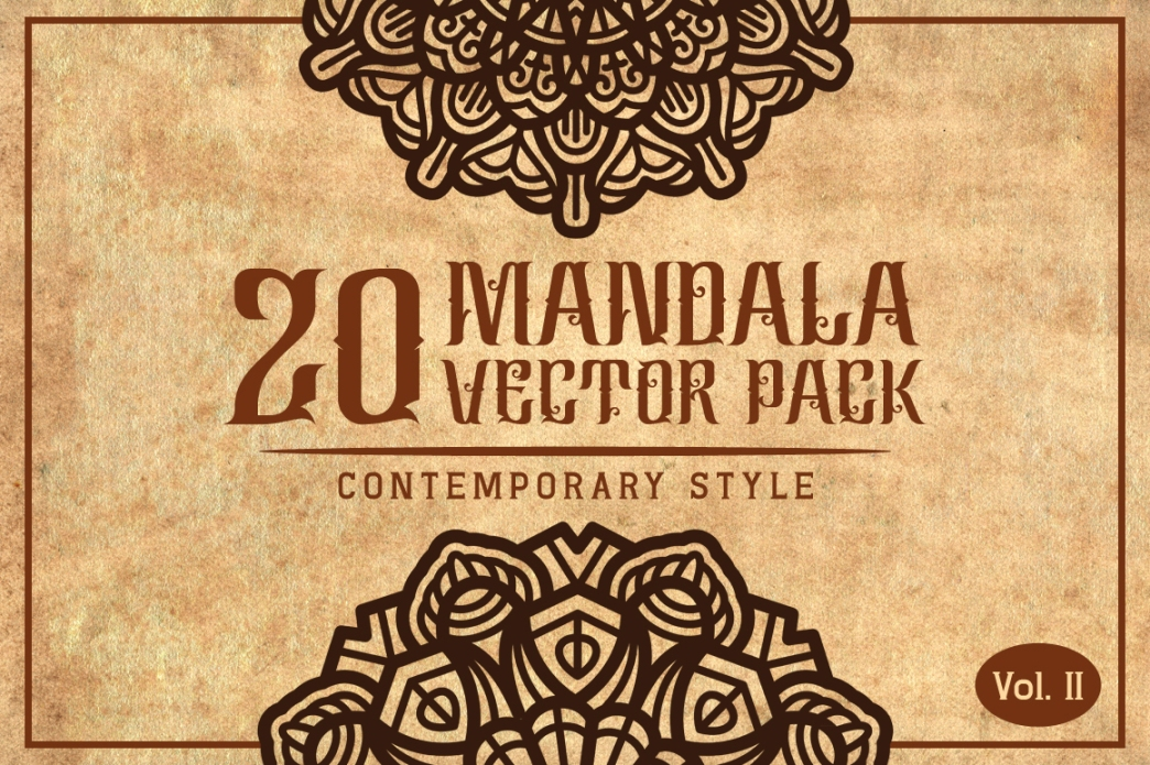Mandala (Contemporary Style) Vol. II example image 1