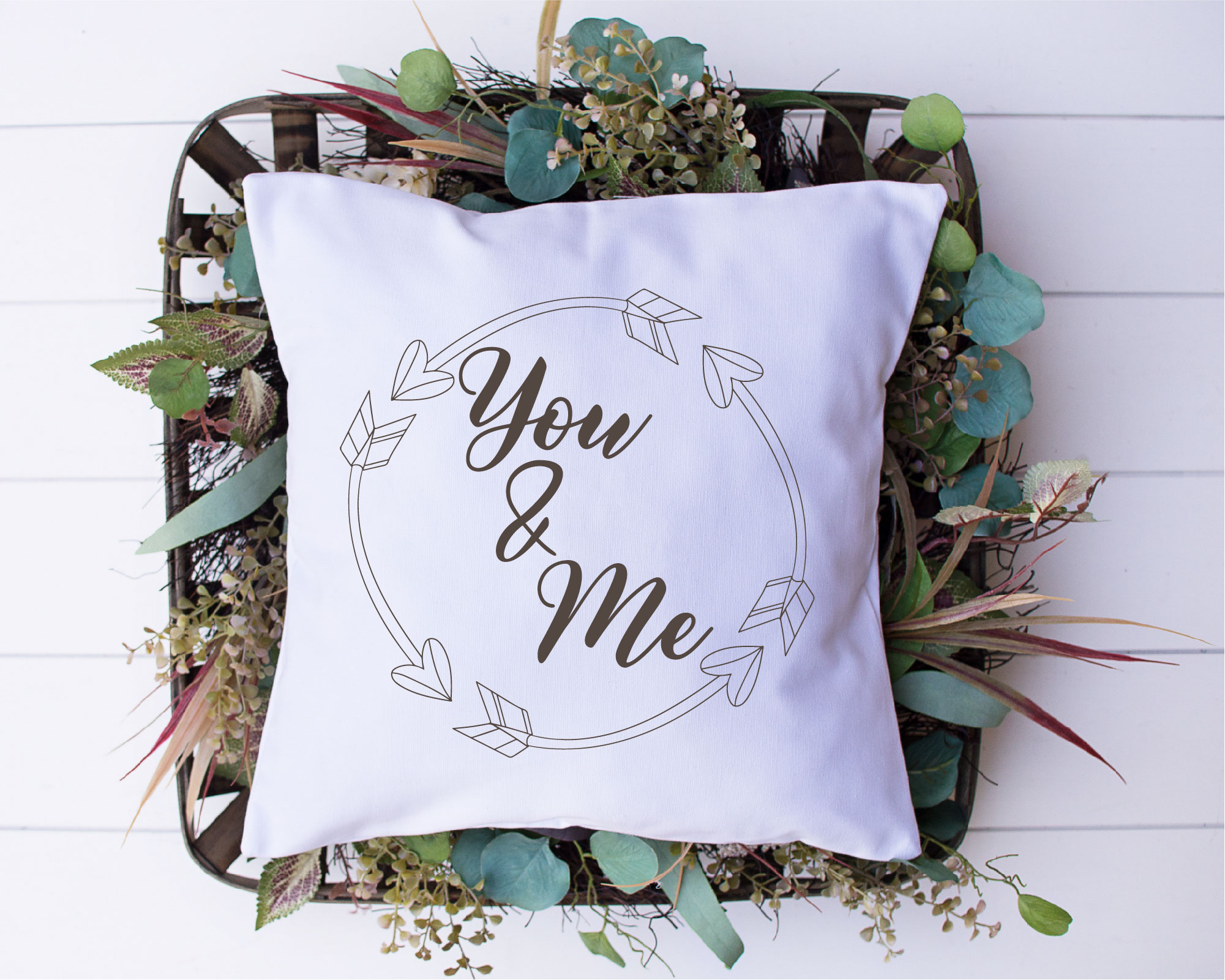 You And Me SVG, Wedding, Love, Sublimation example image 2