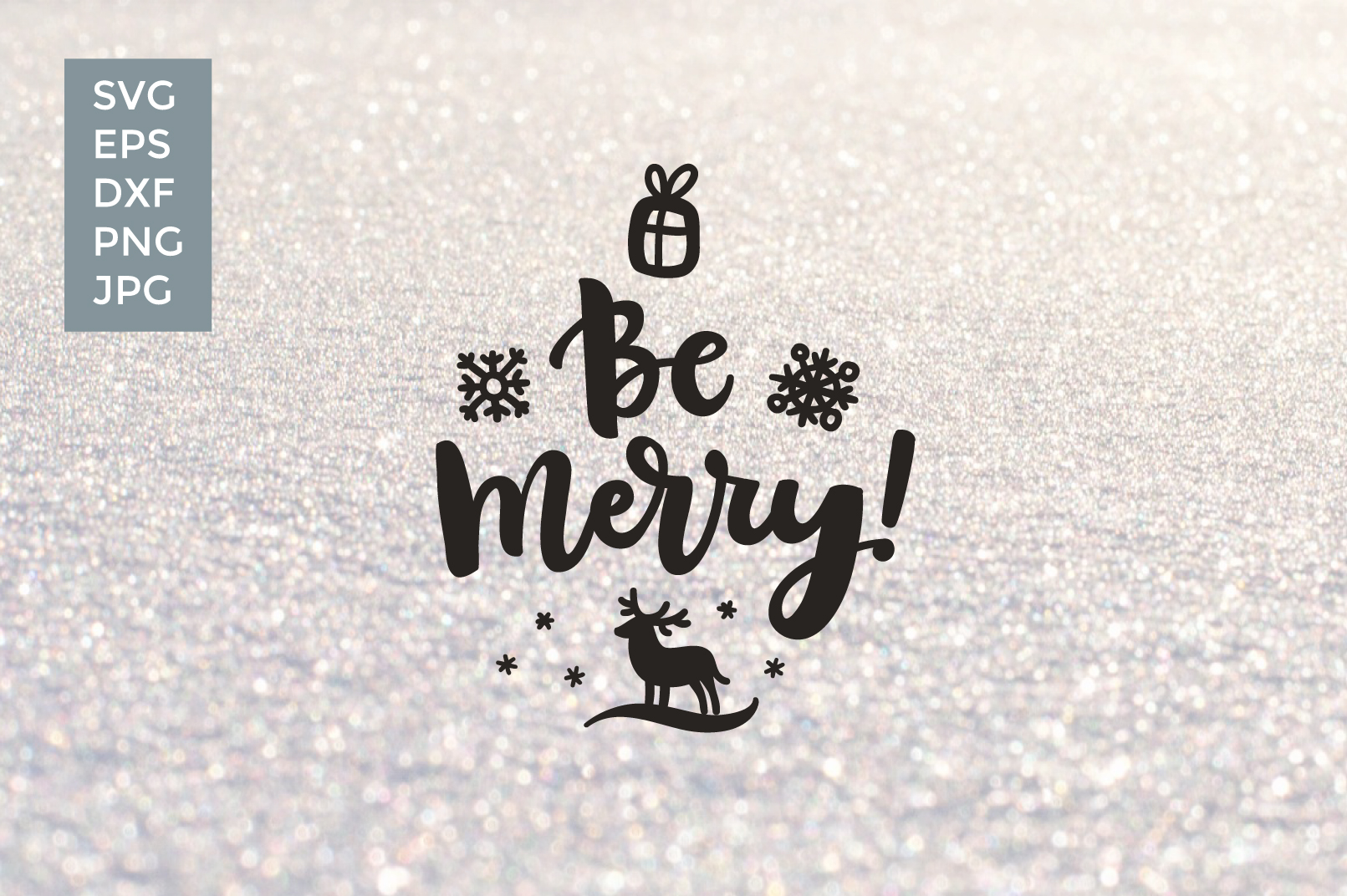 12 Christmas Vector Cut files example image 3