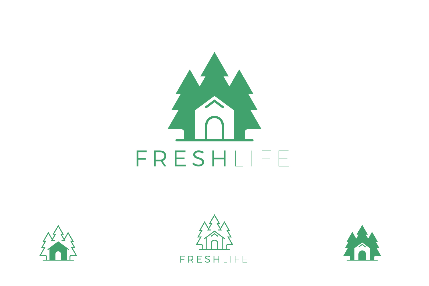 Tree Home logo example image 1