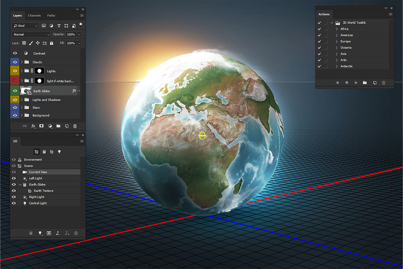 Photoshop 3D World example image 5