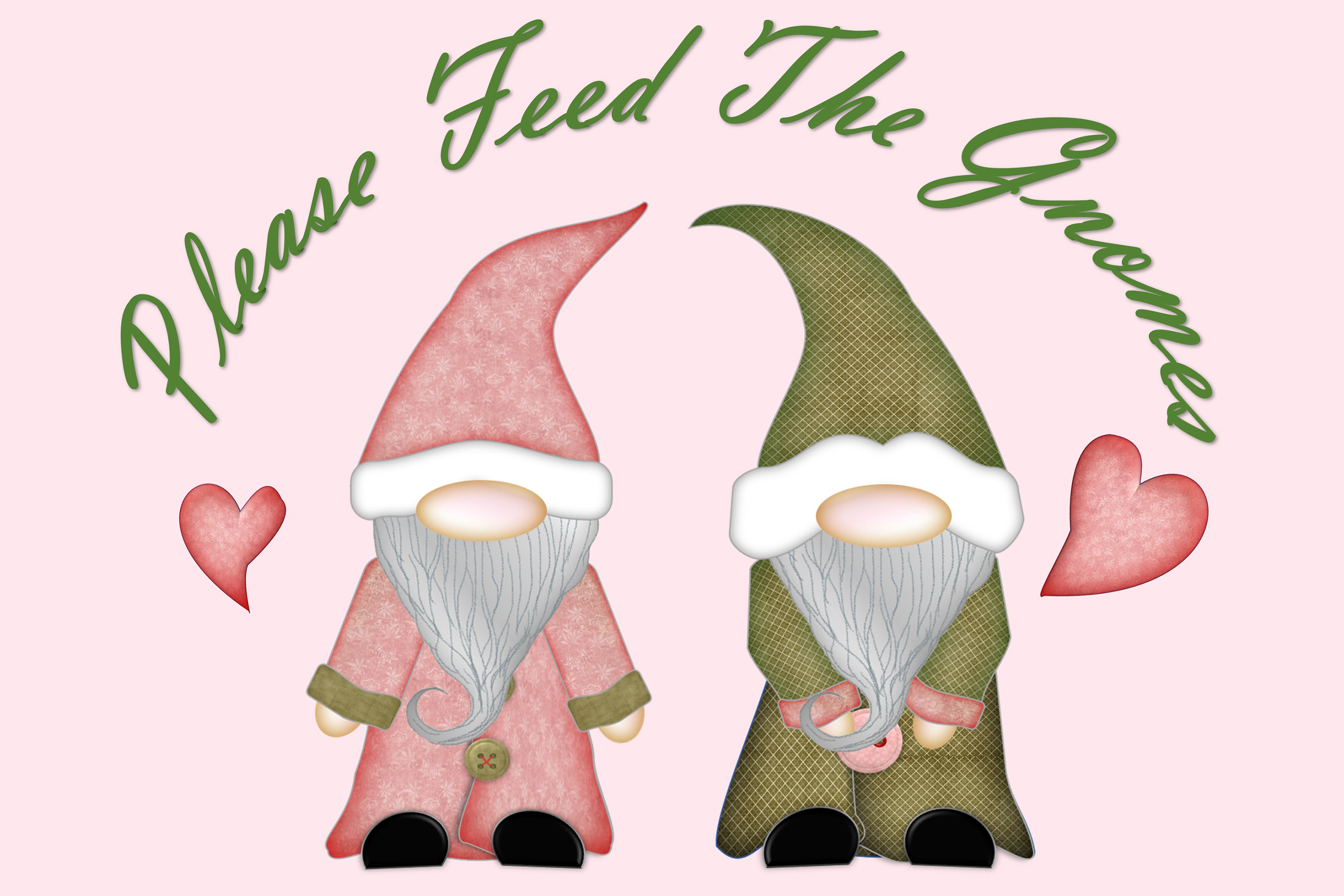 Scandinavian Gnomes Clipart, Sublimation, PNG, SVG and JPEG example image 3