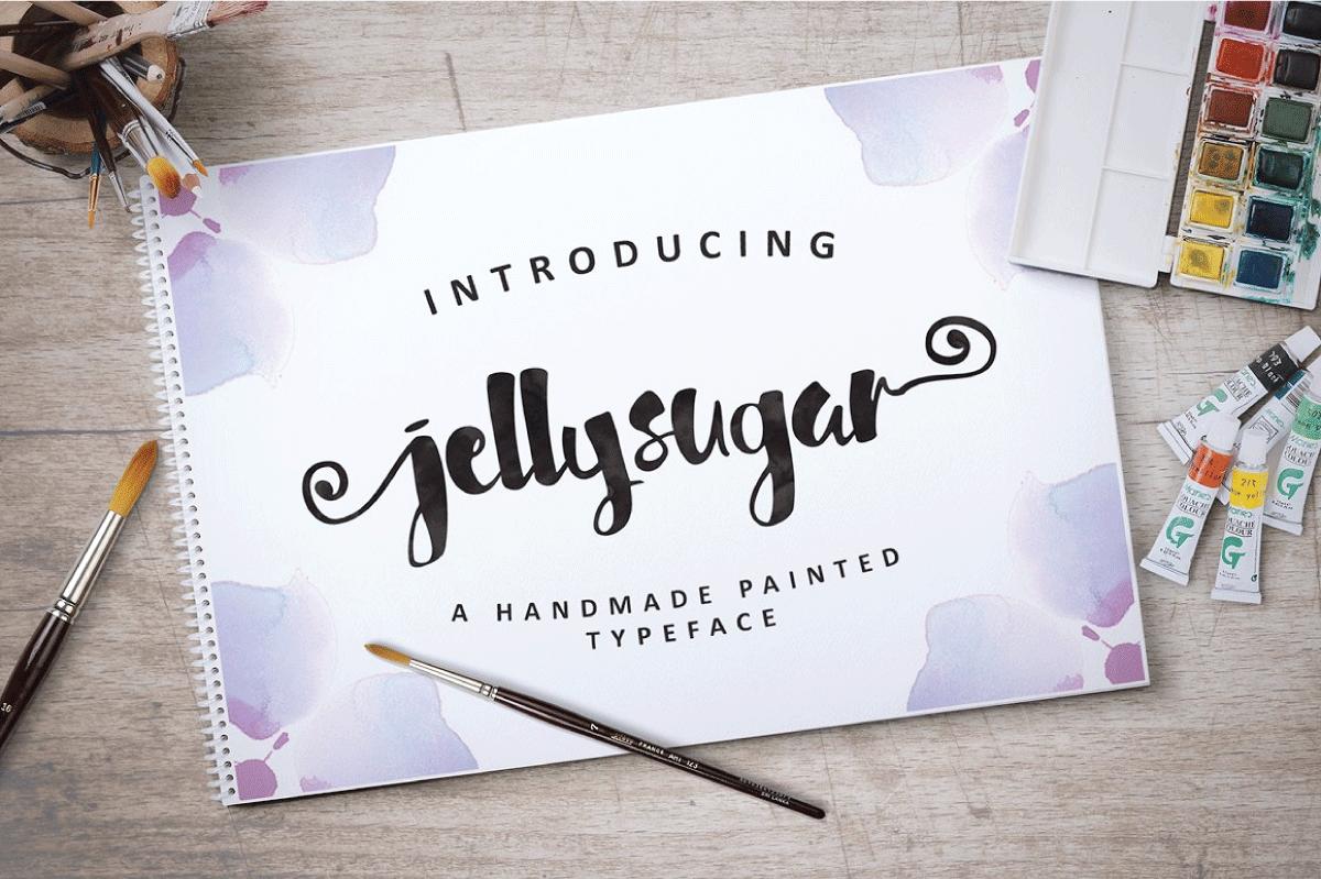 Jellysugar Typeface example image 1