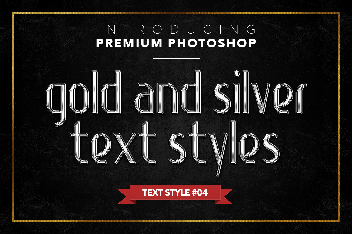 Gold & Silver #1 - 20 Text Styles example image 20