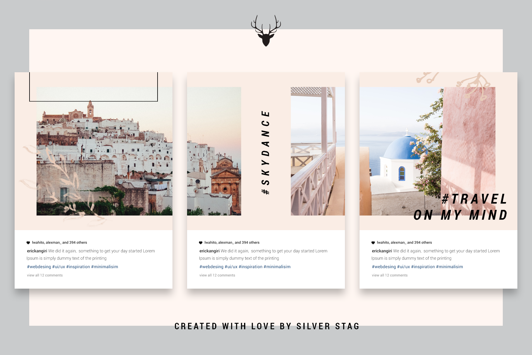InstaGrid 5.0 - Creative & Modern Instagram Puzzle Template example image 11