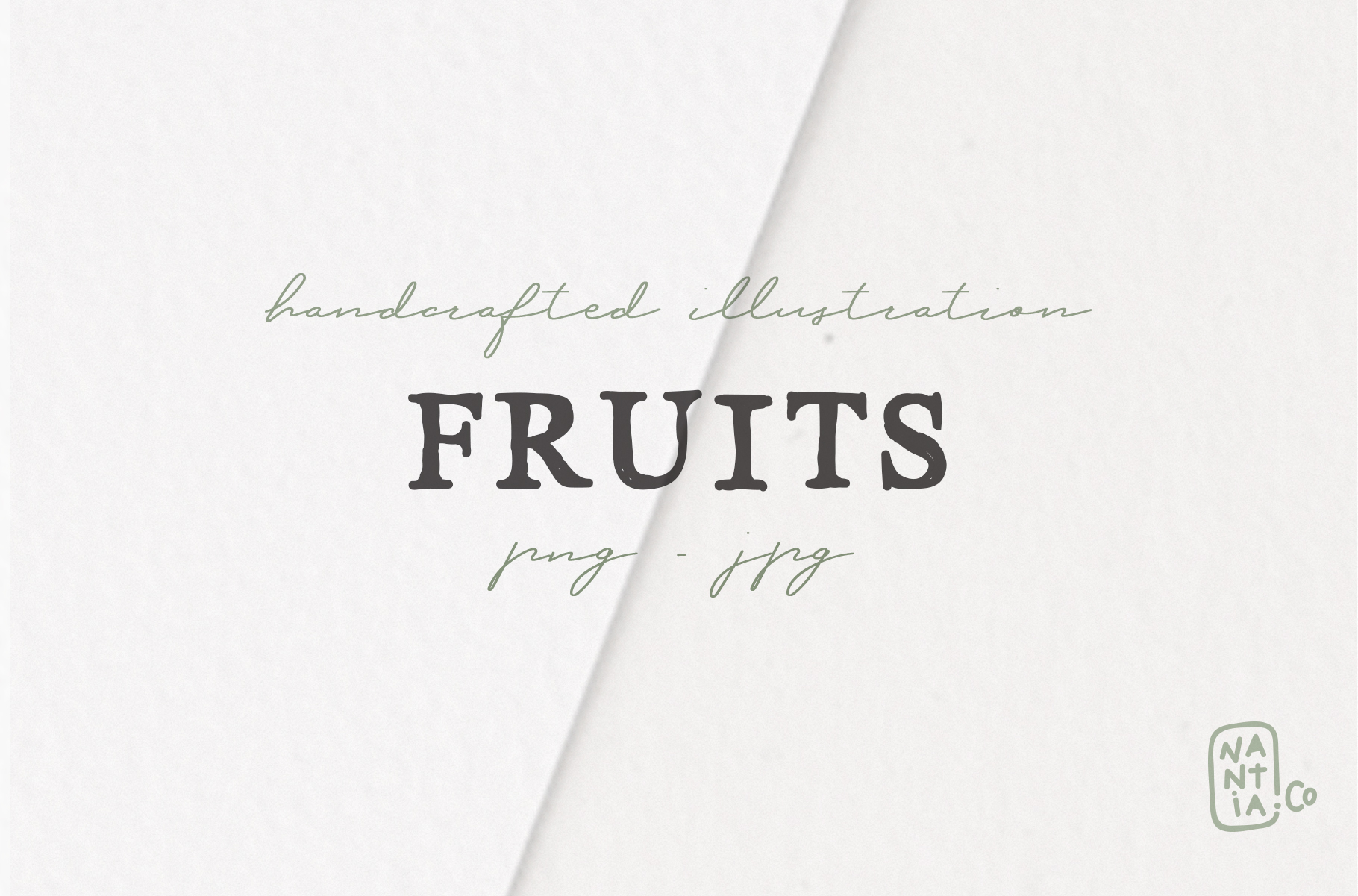 Hand drawn Fruit Collection example image 7